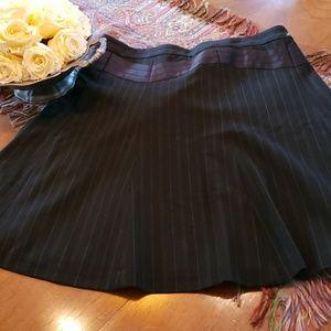 Laundry by shelli segal flare skirt 8